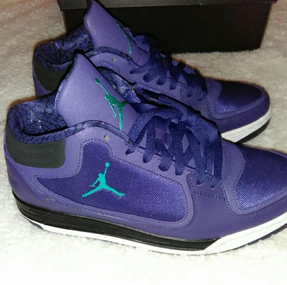 85bd096c7d9 Jordan Shoes | Mens Purple Turquoise S | Poshmark